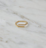 Lexi Twist Ring, Gold