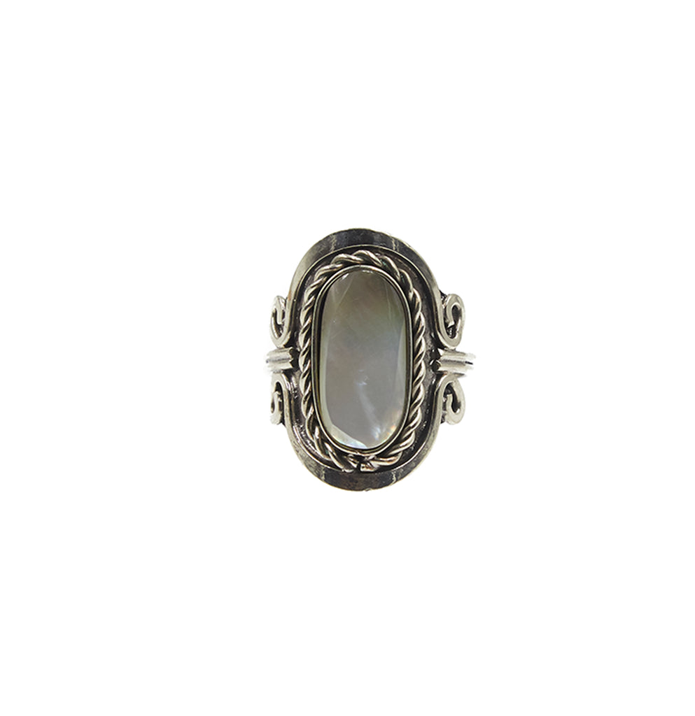 Copa Ring, Mother of Pearl