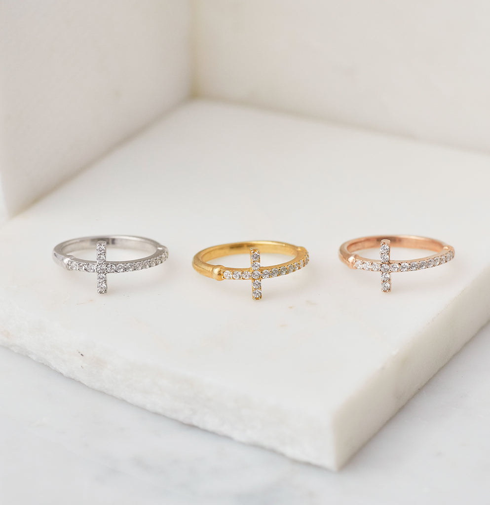 Divine Pinky - Midi Ring, Gold