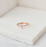 Divine Pinky - Midi Ring, Rose Gold