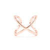 Hug Me Ring, Rose Gold