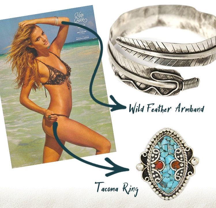 Wild Feather Armband, Featured in Sports Illustrated Swim
