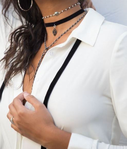 Serena Buried Treasure Choker