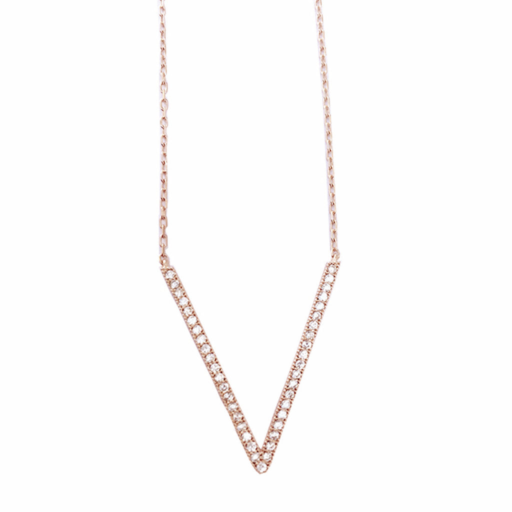 Take the Plunge II, Clear Rose Gold