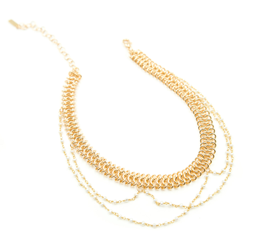 Tribeca Choker, Gold