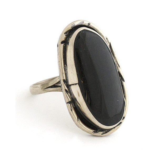 Two Raven Plain Ring