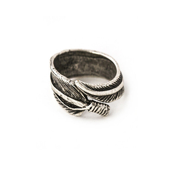 Wild Feather Ring