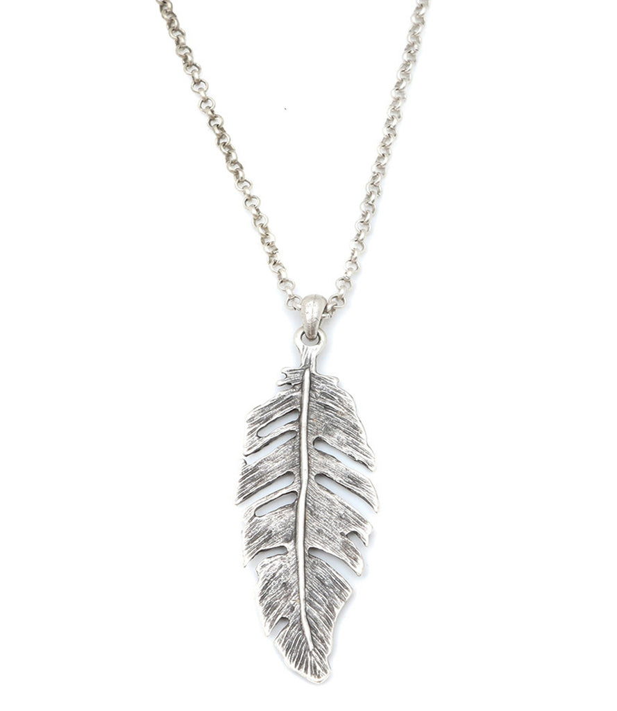 Feather Of Virtue Necklace