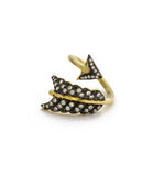 Shooting Arrow Ring, Gold