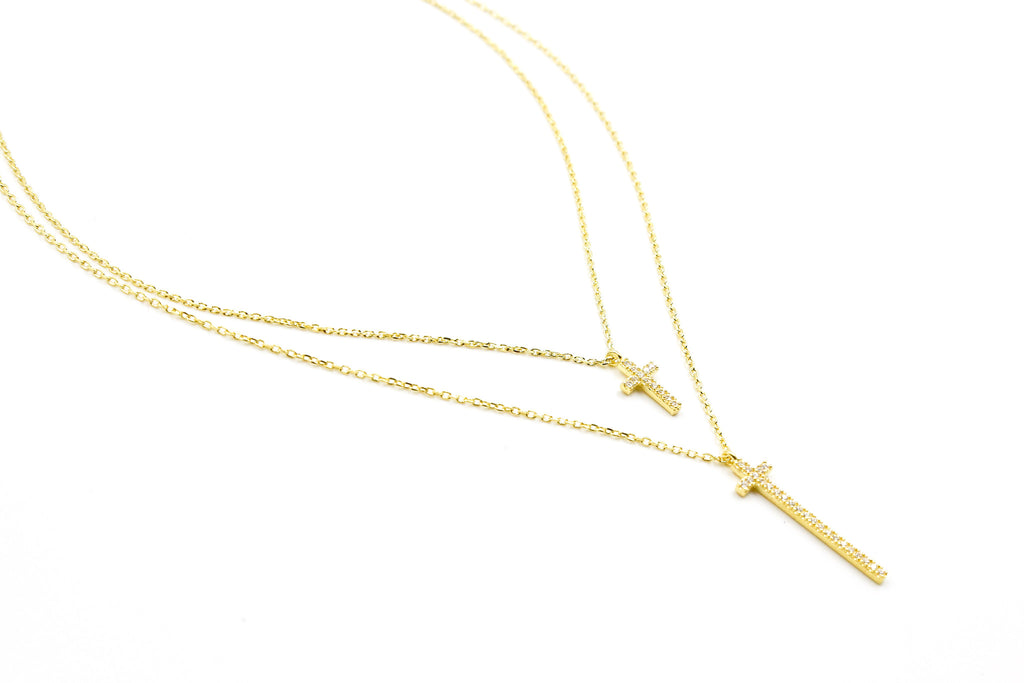 Way Up Necklace, Gold