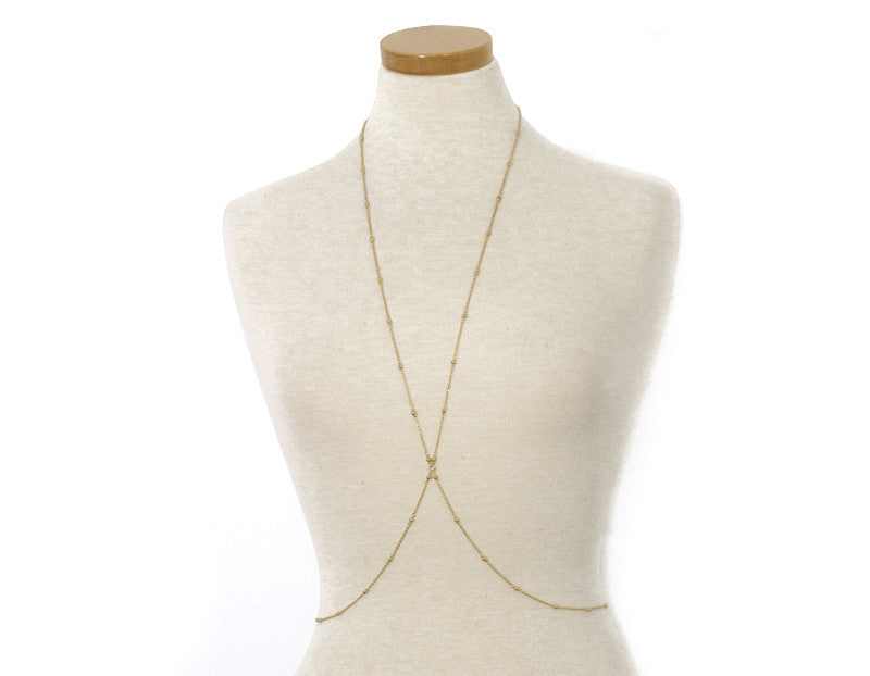 This Bods for You Body Chain, Gold