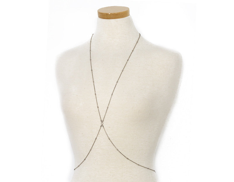 This Bods for You Body Chain, Silver