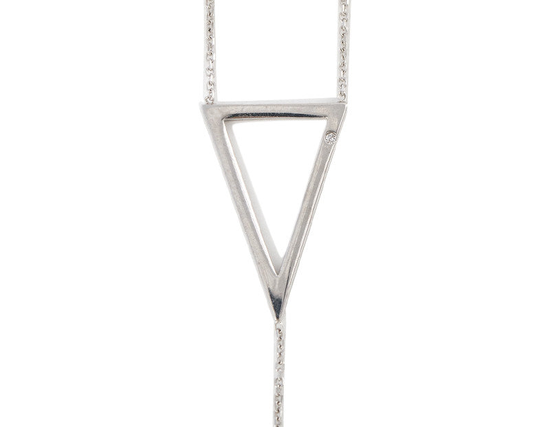 Its Goin Down Necklace, Silver