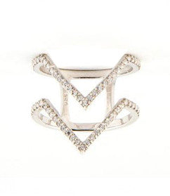 Twinvies Ring, Silver