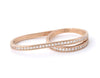 Ottoman Double Delight Ring, Rose Gold