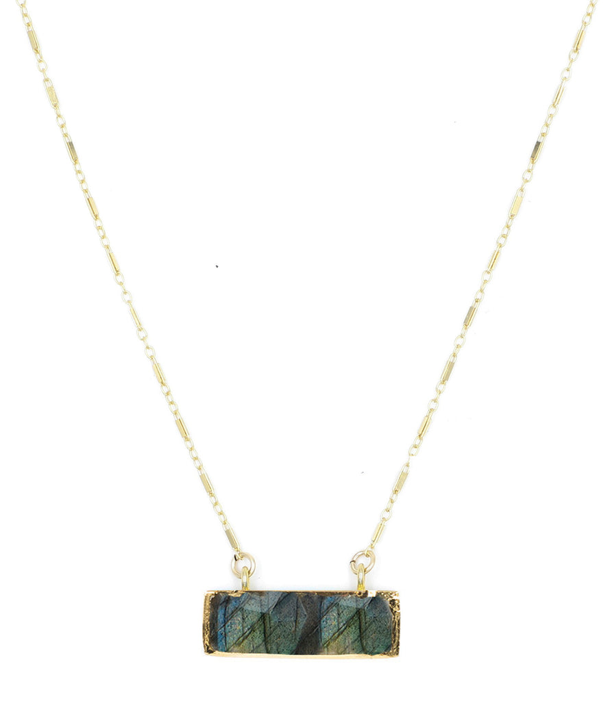 Low Tide Necklace, Labradorite