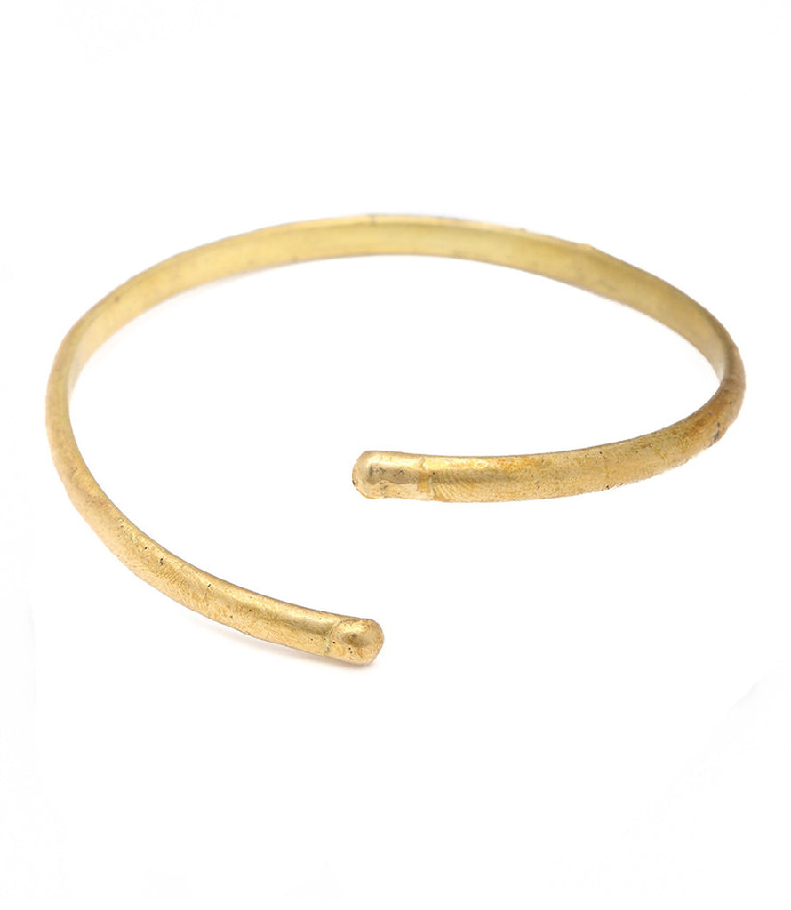 Makin Waves Armband, Brass