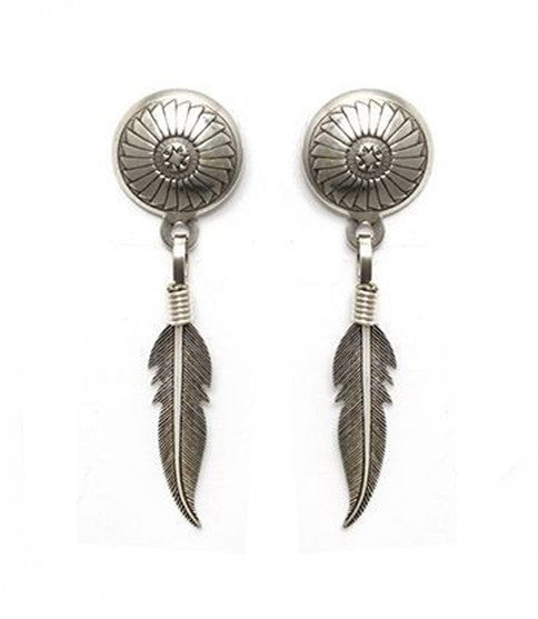 Mojave Feather Earring