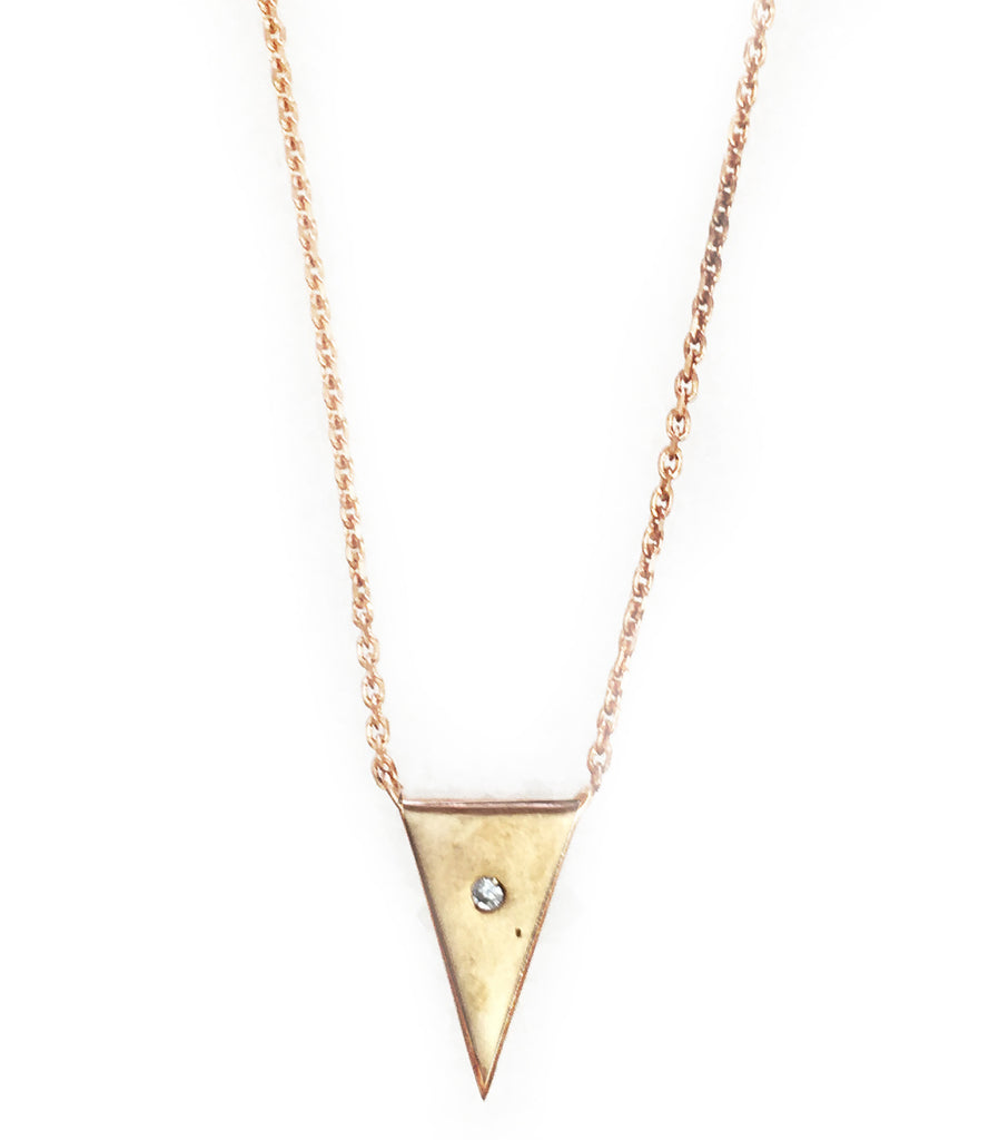 Petit Gateau Necklace, Rose Gold