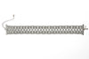 Tatjana Modele Lace Ribbon Choker, Grey