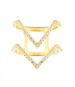 Twinvies Ring, Gold
