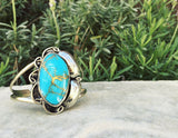 Two Raven Cuff, Turquoise