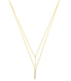 Uptown Necklace, Gold
