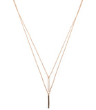 Uptown Necklace, Rose Gold