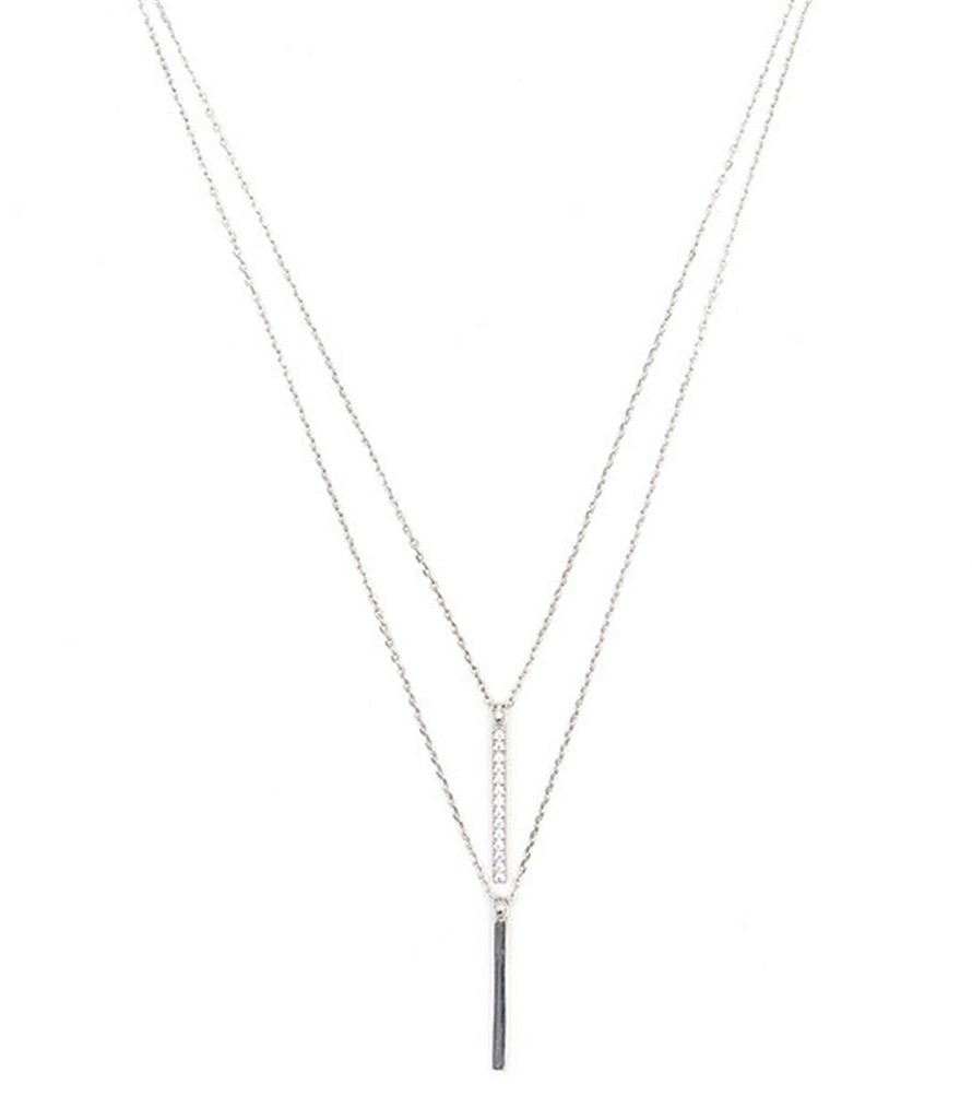 Uptown Necklace, Silver