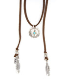 Circle Vintage Navajo Mai II Roadie Wrap, Saddle