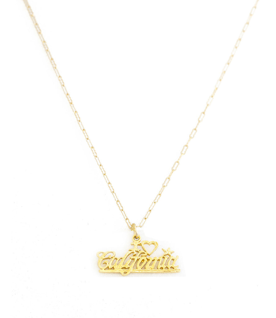 California Charm Necklace