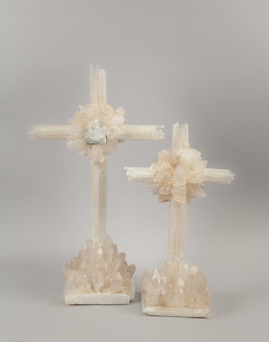 SELENITE CROSSES