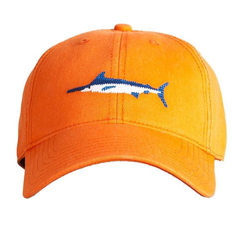 HAT MARLIN ON ORANGE