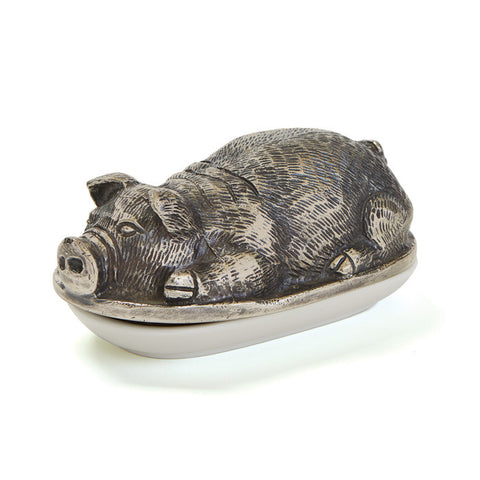 PIGSLEY BUTTER DISH