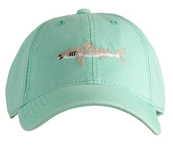 HAT SHARK ON KEYS GREEN