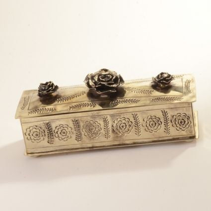 SILVER ROSE BOX