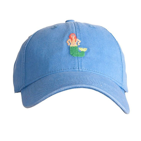 HAT MERMAID ON PERIWINKLE