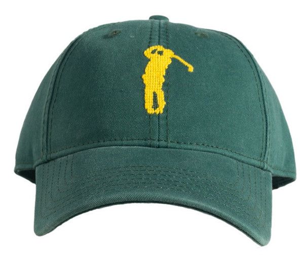 HAT YELLOW GOLF ON GREEN