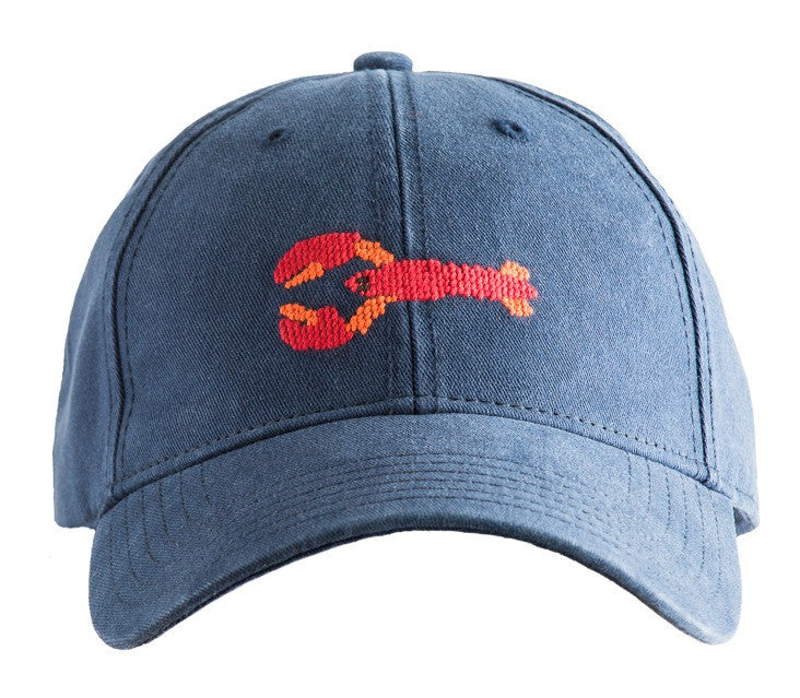 LOBSTER ON NAVY BLUE