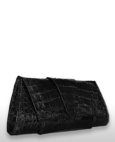 CROCODILE WRAP CLUTCH