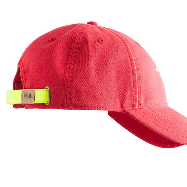 HAT RETRO SCHUSS ON BRIGHT RED
