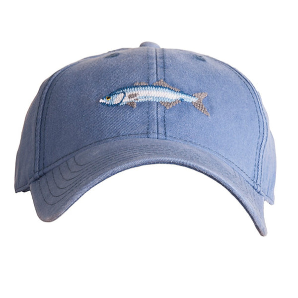 HAT BLUEFISH ON SLATE BLUE