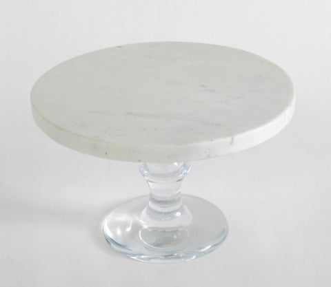 MARBLE TOP CAKE STAND