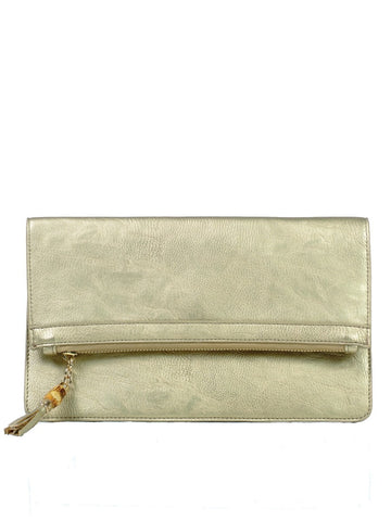 MILAN FOLD OVER CLUTCH