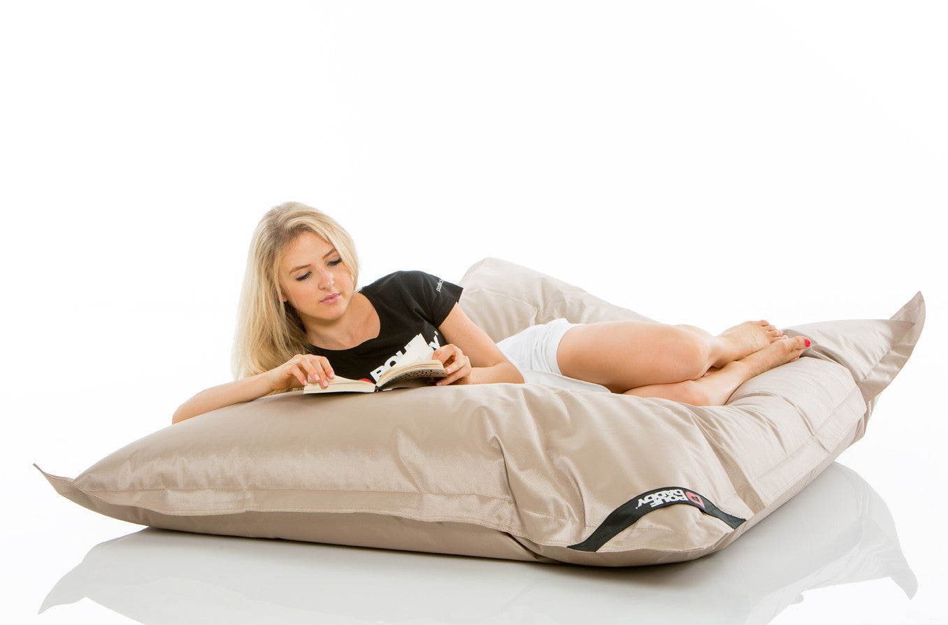 The Curve Pouf Daddy Ultimate Luxurious Lounging Pouf