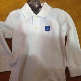 Port Authority Polo Shirt Youth Long Sleeve