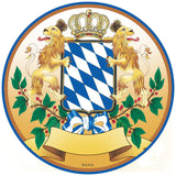 Oktoberfest 4 Pc. Coaster Set with Bayern Coat of Arms - OktoberfestHaus.com