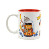 """I Love Germany"" German Gift Idea Mug - 4 - OktoberfestHaus.com"