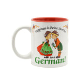 """Happiness is being Married to a German"" German Gift Mug - 1  - OktoberfestHaus.com"