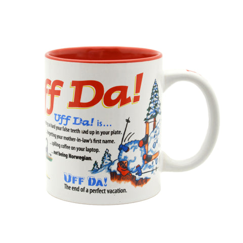 """Uff Da!"" Ceramic Coffee Mug - DutchGiftOutlet"
